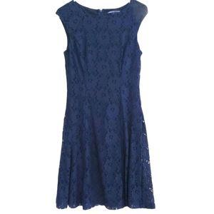 American Living Blue Lace Dress